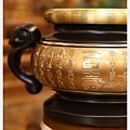 唐山居家佛具-(寶華)特級雙色百壽祖先爐3寸5(特寫)