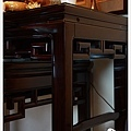 神桌佛桌佛具用品展示-烏金木祥瑞神明桌