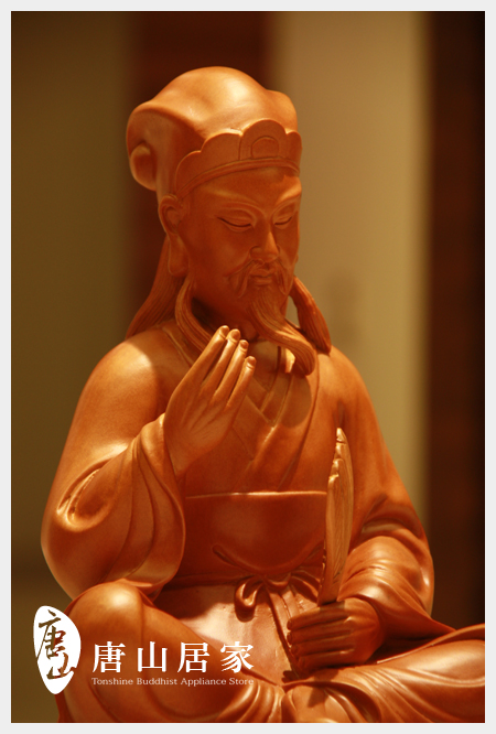 神明雕刻-神機妙算-諸葛孔明