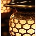 (唐山佛俱) 結晶神社燈(聚財黃)結晶特寫