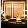 慈悲觀音-台灣檜木精雕莊嚴佛像,木頭紋路清晰無拼接