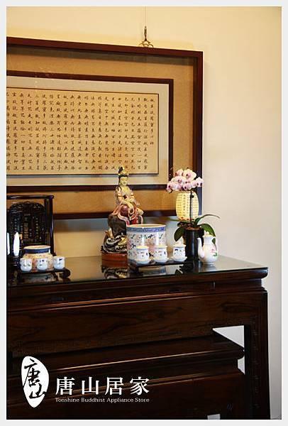 唐山佛具-黑紫檀萬字佛桌展示之一