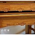 {唐山居家神明桌} 佛堂設計成品展示-黃花梨如意~實木木紋絕非貼皮~