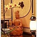 神桌佛桌佛具用品展示-名家手寫圓佛心經佛聯