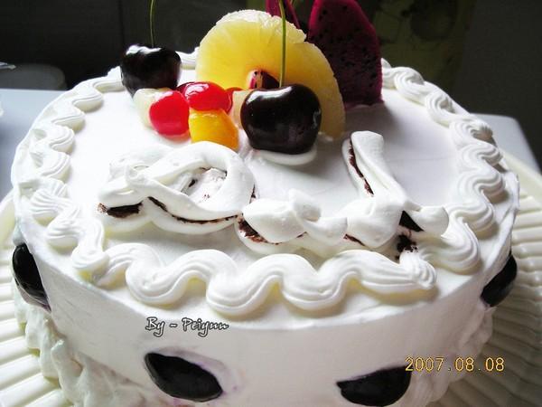 2007.08.08  父親節蛋糕 (半成品)
