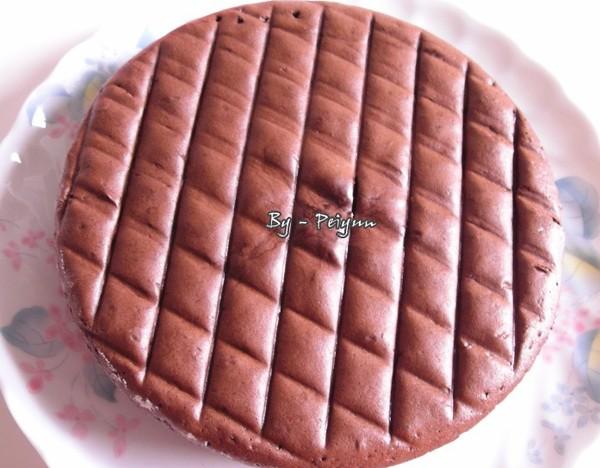 2007.08.20 古典巧克力蛋糕  (半成品)