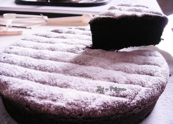 2007.08.20 古典巧克力蛋糕8  (成品)