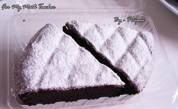 2007.08.24 古典巧克力蛋糕Part 2 (成品)
