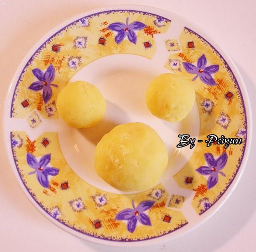 2007.09.22 中秋月餅-綠豆餡2
