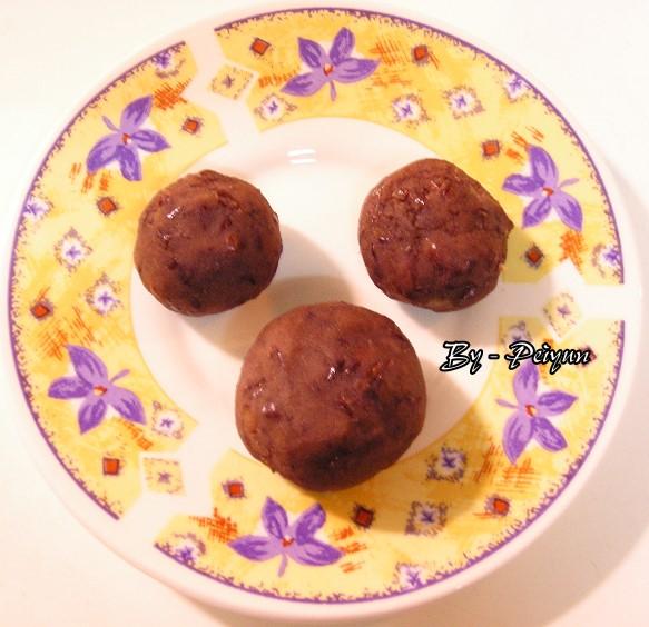 2007.09.21 中秋月餅-紅豆餡