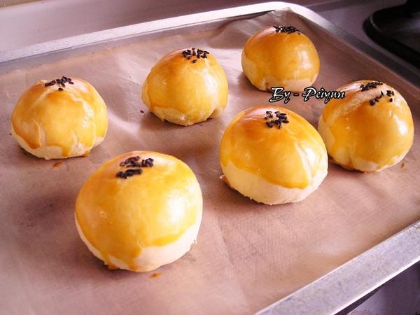 2007.09.22 中秋月餅-蛋黃酥2