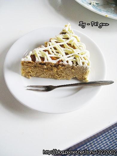 2007.11.02 冰涼抹茶慕斯蛋糕(成品)3