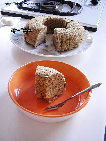 2007.12.15 紅豆抹茶戚風蛋糕(成品)3.jpg