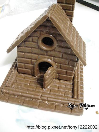 2007.12.19 小型巧克力屋(成品)