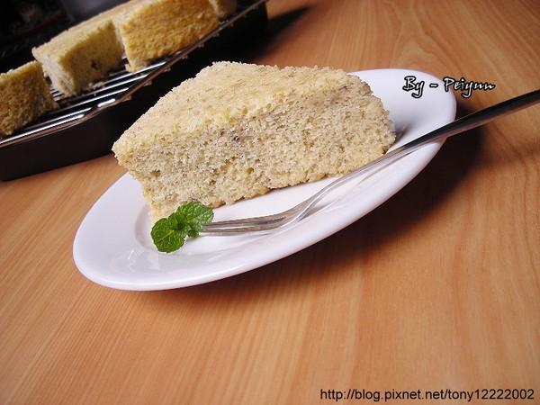 2008.01.25 香蕉戚風蛋糕(成品)