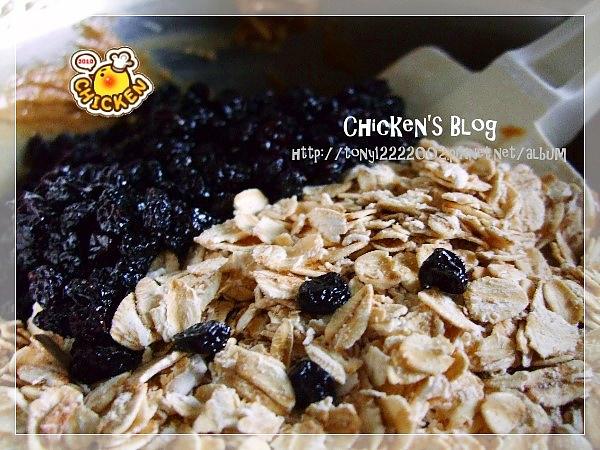 2010.08.06 Brown suger blue berry oats cookies4.jpg