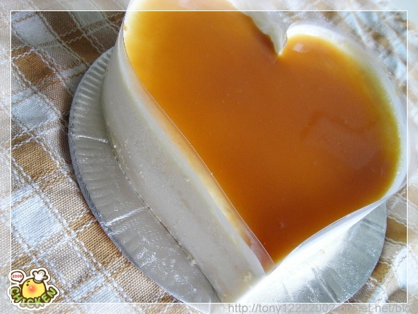 2009.08.28 宅神也會浪漫訂單-牛奶焦糖幕斯2.jpg