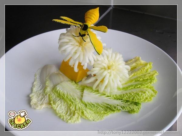 2009.11.03 南瓜-蜜蜂 娃娃菜-菊.jpg