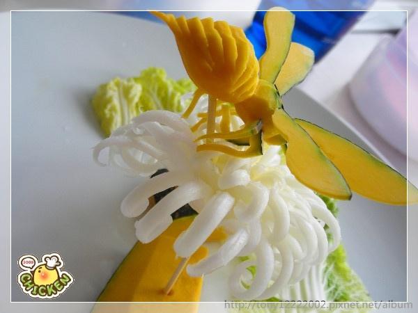 2009.11.03 南瓜-蜜蜂 娃娃菜-菊2.jpg