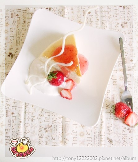 2010.01.30 Cheese cake with strewberry cream5.jpg
