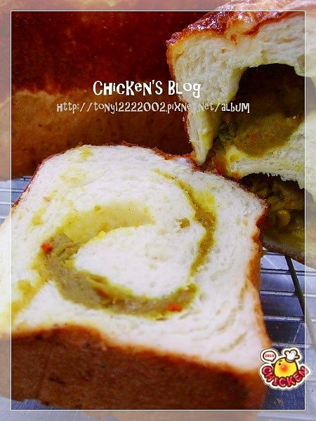 2010.09.04 咖哩乳酪吐司