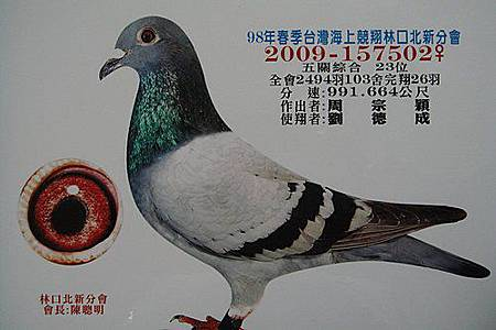 2009北新春五關23位