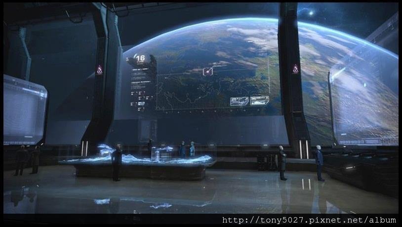 光飛船內部相片