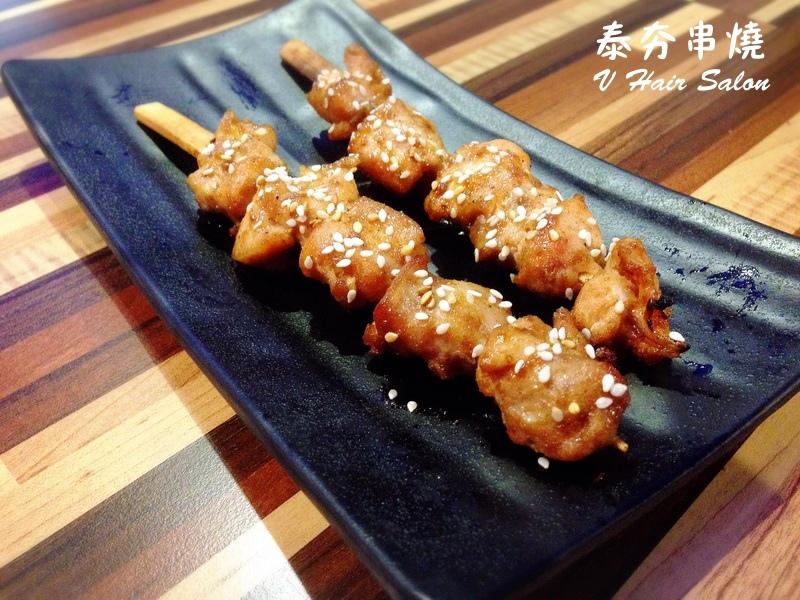 A15 鹽烤醬烤雞腿肉串