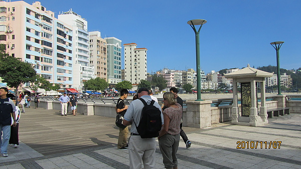 赤柱海邊一景