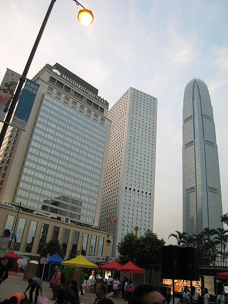 中環的高樓大廈