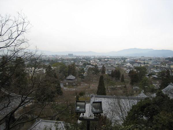 永觀堂鳥瞰京都