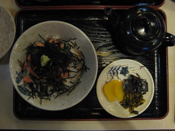 tonya的午餐-?魚茶泡飯