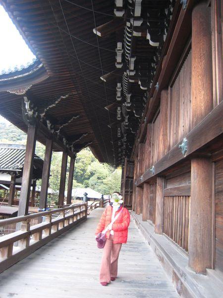 知恩院主殿旁的迴廊