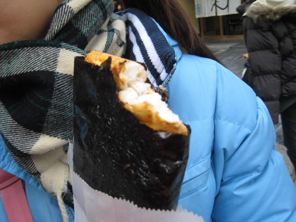 手工現烤仙貝150日圓