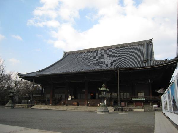 東本願寺一角