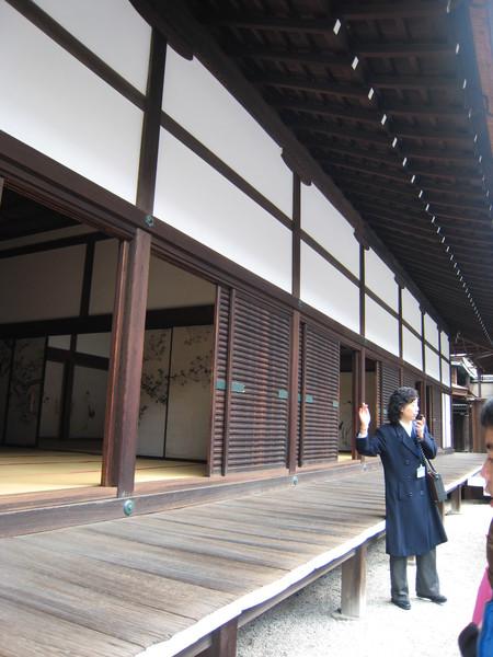 京都御所的英文導覽