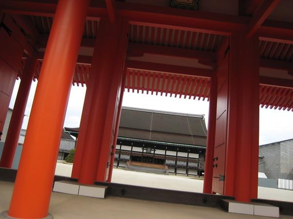 京都御所的某個殿