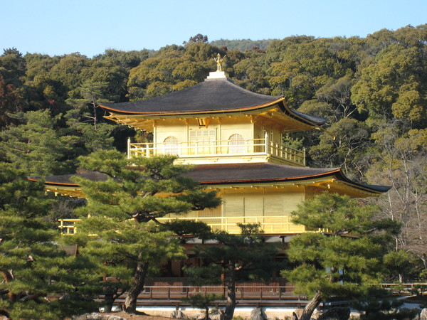 閃亮亮的金閣寺