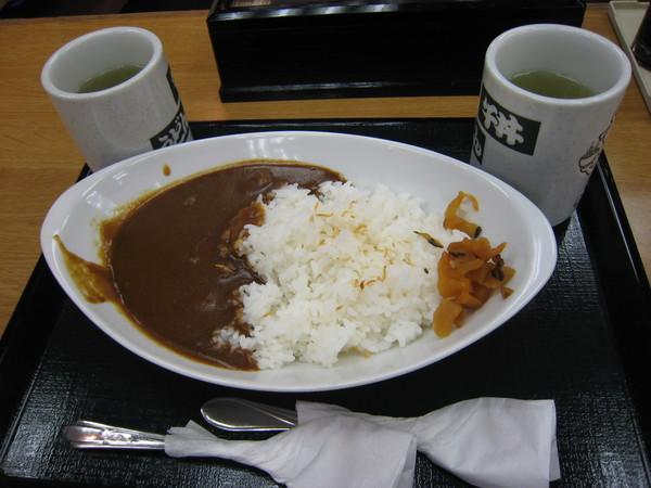 晚餐-咖哩牛肉飯
