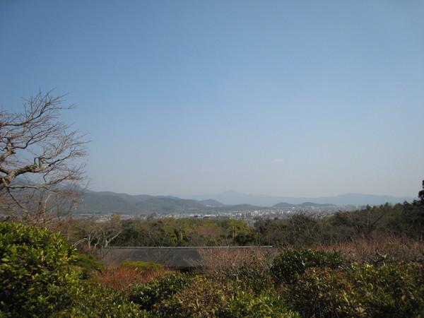 從大河內山莊遠眺京都