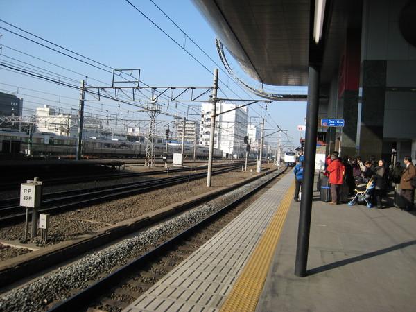 京都JR車站HARUKA的月台