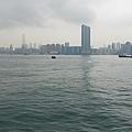 渡船上的海景?河景?