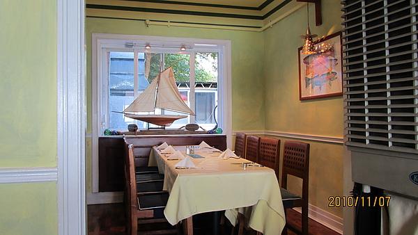 吃海鮮喝啤酒的比利時餐廳
