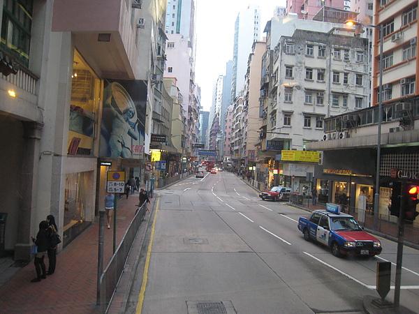 巴士上看到的街景