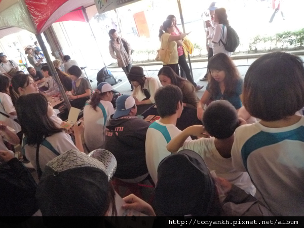 20111029新竹友達光電家庭日_塔羅牌占卜_Vicky_2