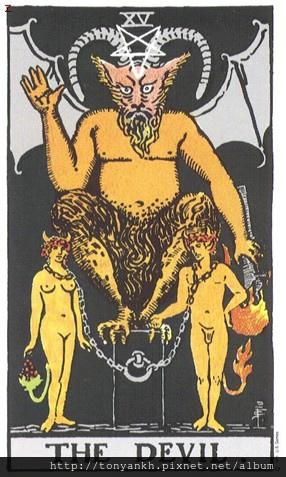 塔羅牌惡魔牌