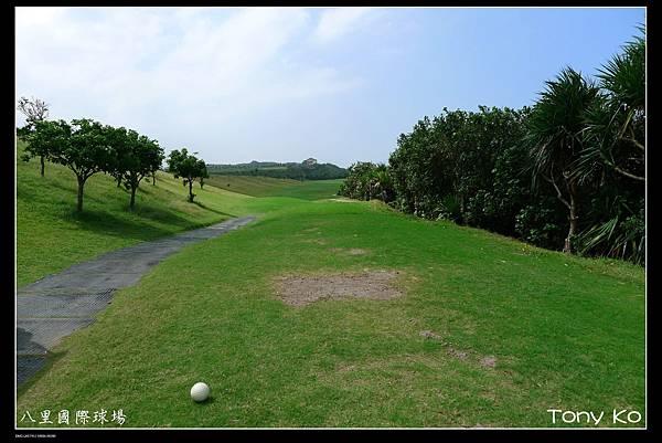 八里國際高爾夫高爾夫球場-OUT 第2洞  PAR4  370碼  難度3.JPG