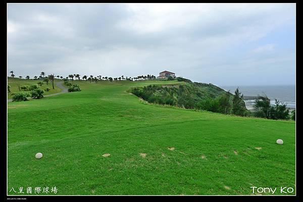 八里國際高爾夫高爾夫球場-OUT 第5洞  PAR3  155碼  難度11.JPG