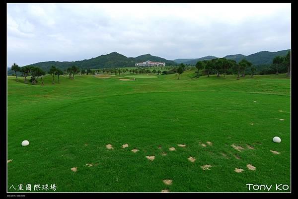 八里國際高爾夫高爾夫球場-OUT 第8洞  PAR3  135碼  難度17.JPG