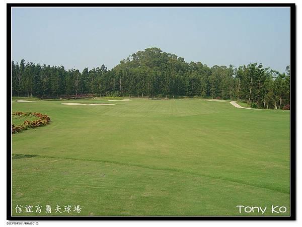 信誼高爾夫球場 OUT 第3洞 PAR 3 223碼 難度7.jpg